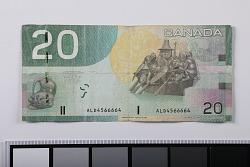 20 Dollars, Canada, 2005