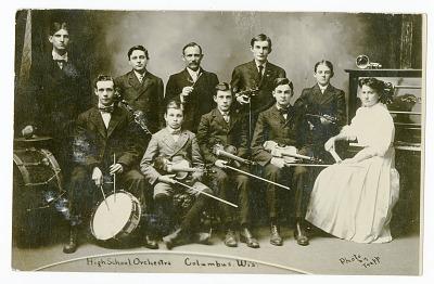 High School Orchestra, Columbus, Wis.
