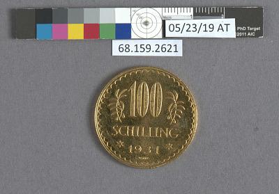 100 Schillings, Austria, 1931