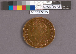 5 Guineas, England, 1687