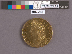 5 Guineas, England, 1686