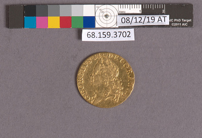 1 Guinea, England, 1759