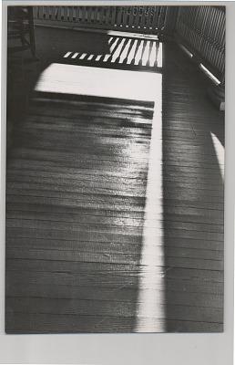 Shadows on Porch