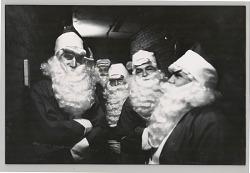 Santa Clause Group Portrait