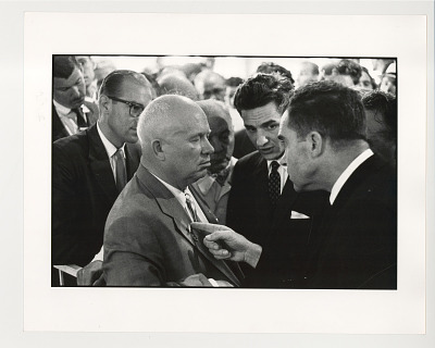 Nixon and Kruschev Kitchen Debate