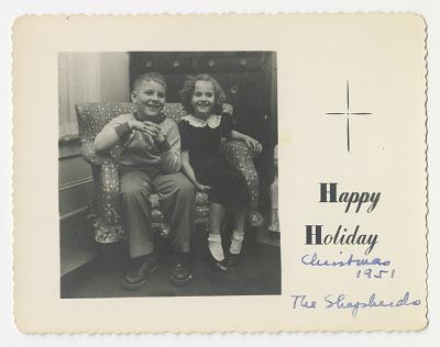 Happy Holidays Christmas 1951
