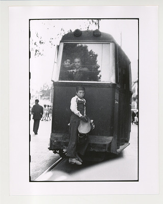 Boy on Streetcar