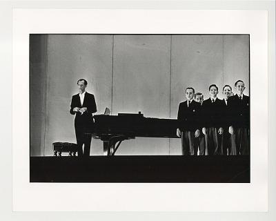 Pianist and Boys Choir