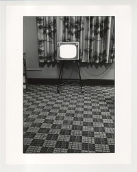 Television in Motel