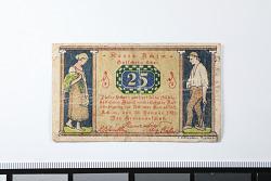 25 Pfennig Note, Achim, Germany, 1921