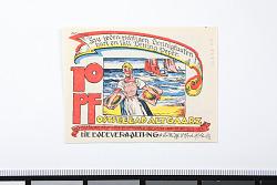 10 Pfennig Note, Ostseebad Alt Gaarz, Germany, 1922