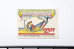 25 Pfennig Note, Ostseebad Alt Gaarz, Germany, 1922