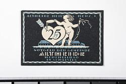 25 Pfennig Note, Alteheide, Germany, n.d.