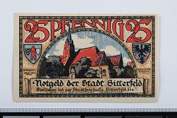 25 Pfennig Note, Bitterfeld, Germany, 1921