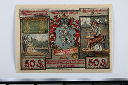 50 Pfennig Note, Blankenhain, Germany, n.d.