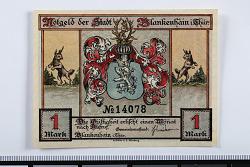 1 Mark Note, Blankenhain, Germany, n.d.