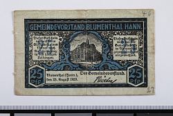 25 Pfennig Note, Blumenthal, Germany, 1920