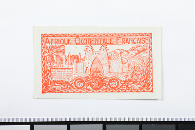 50 Centimes, French West Africa, 1944