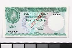 10 Cedis, Ghana, 1965