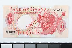 10 Cedis, Ghana, 1967