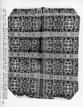 Hesse brothers; Figured and Fancy coverlet; tied-Beiderwand; c. 1840; Ohio