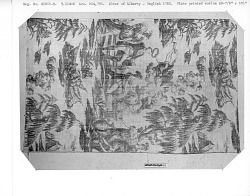 """""""America presenting at the Altar of Liberty"""" Commemorative copperplate printed fabric"""
