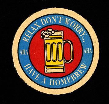 American Homebrewers Association Coaster