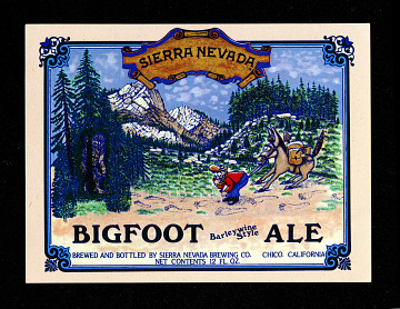 Sierra Nevada Bigfoot Barleywine Style Ale