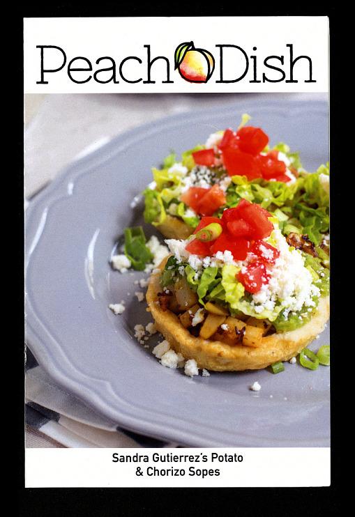 Sandra Guiterrez's Potato & Chorizo Sopes Recipe Card