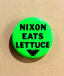 Nixon Eats Lettuce