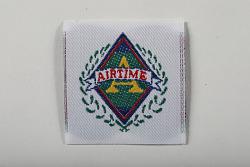 """Airtime"" garment label"