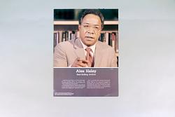 Famous African Americans; Alex Haley