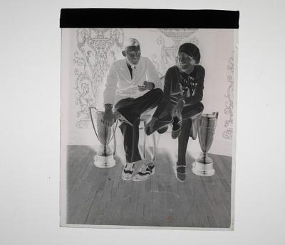 Barbara Mundlock and Vernon Lytle