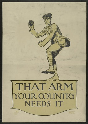 That Arm. Your Country Needs It