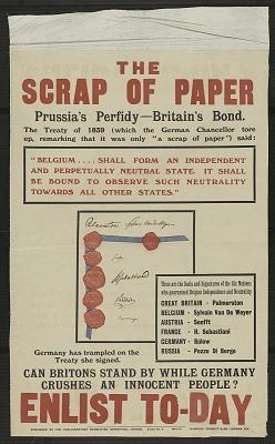 Scrap of Paper / Prussia's Perfidy / Britain's Bond, the