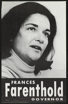 Frances Farenthold Governor