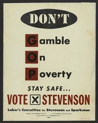 Don't Gamble on Poverty
