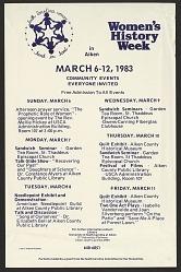 Women's History Week in Aiken