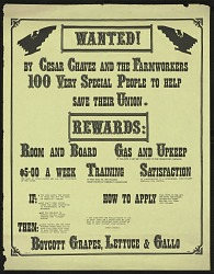 Wanted! by Cesar Chavez
