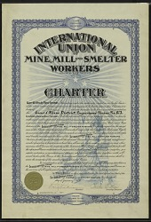International Union of Mine, Mill, and Smelter Workers Charter