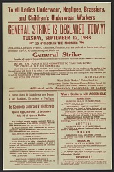 General Strike is Declared Today!