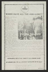 Where Have All the Jobs Gone???