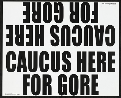Caucus Here For Gore