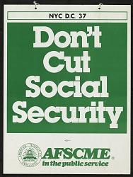 Don't Cut Social Security