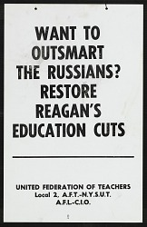 Restore Reagan's Education Cuts