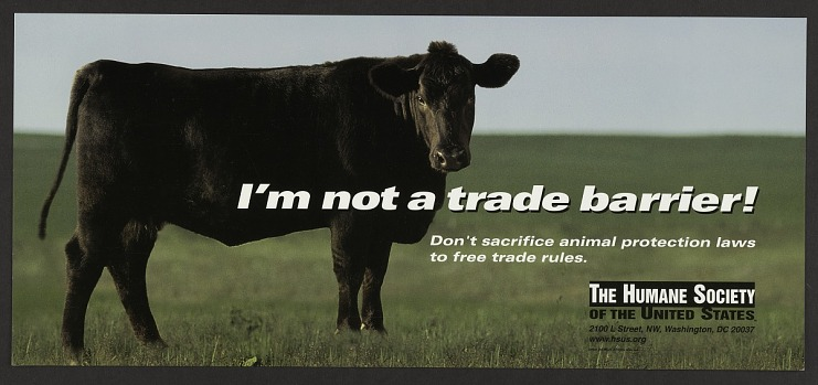 I'm not a trade barrier!