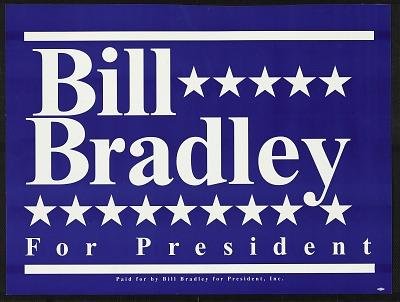 Bill Bradley For President