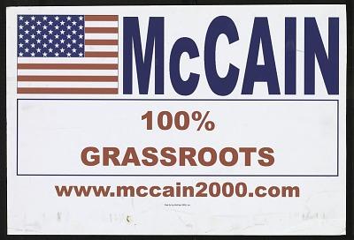 McCain 100% Grassroots