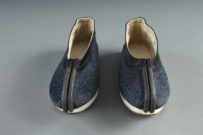 1895 - 1900 Chinese American Man's Slippers