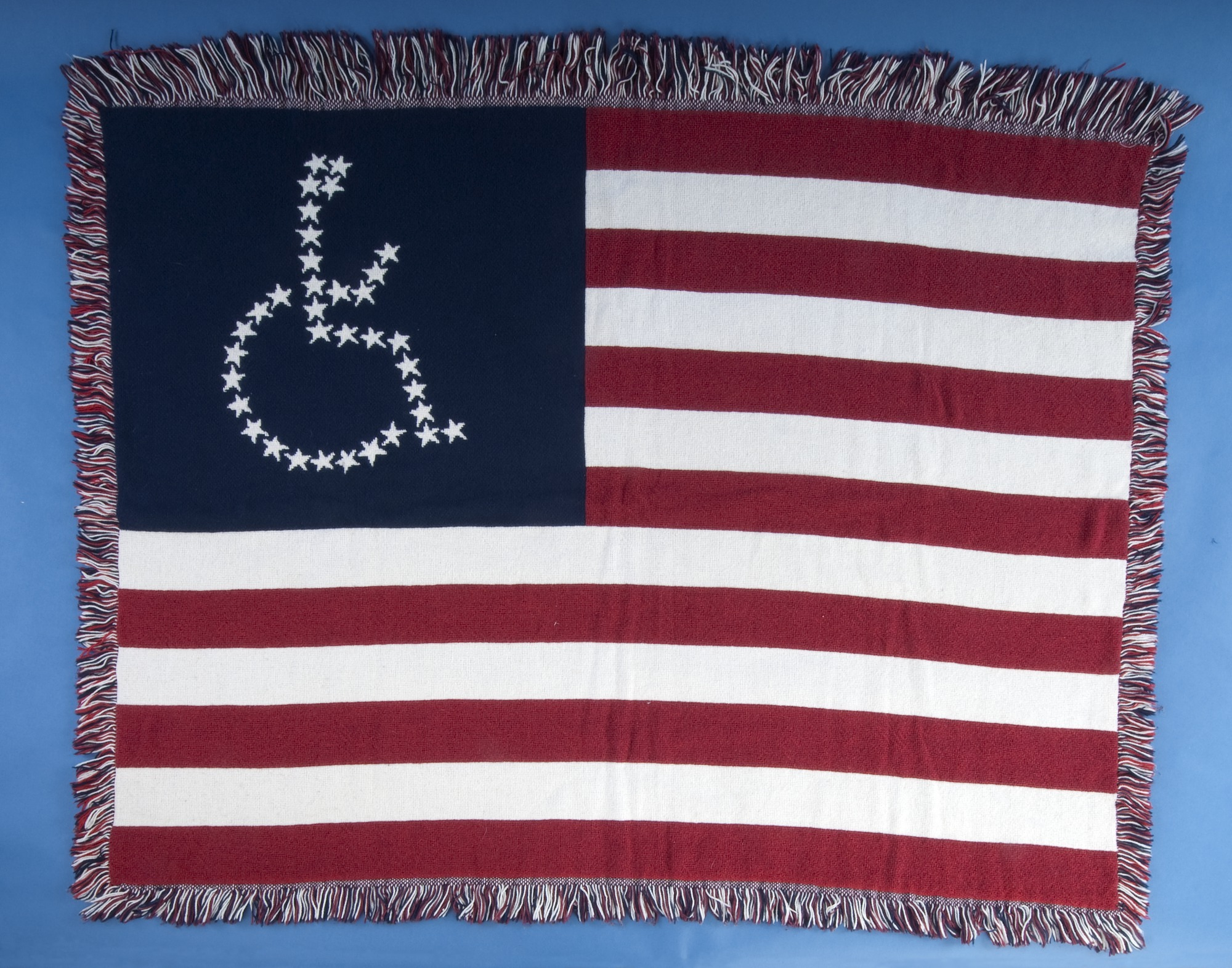 images for Universal Access Flag Lap Blanket